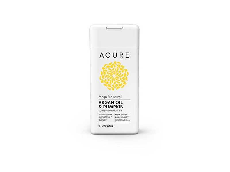 Acure Mega Moisture Conditioner, Argan Oil & Pumpkin, 12 Fluid Ounces