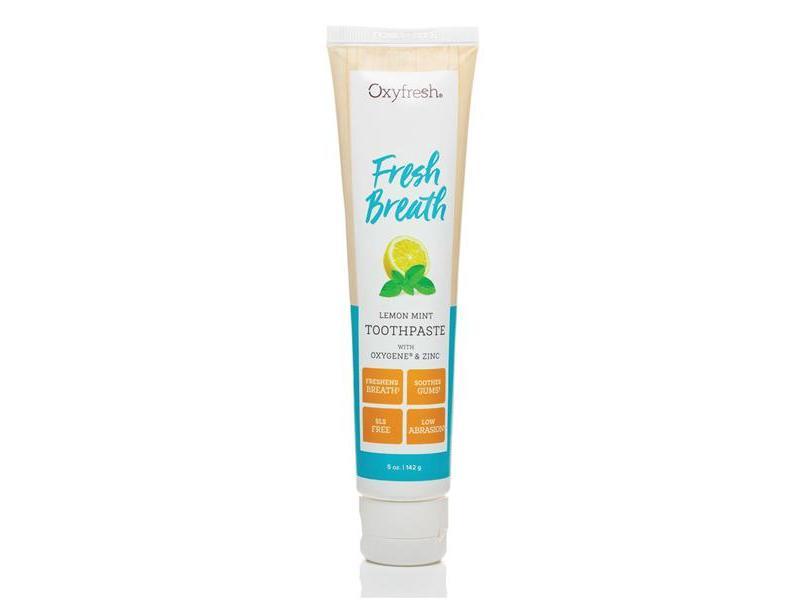 Oxyfresh Breath Toothpaste, Lemon Mint