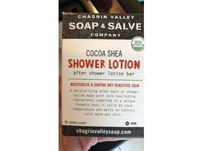 Chagrin Valley Soap & Salve Company Cocoa Shea Shower Lotion Bar