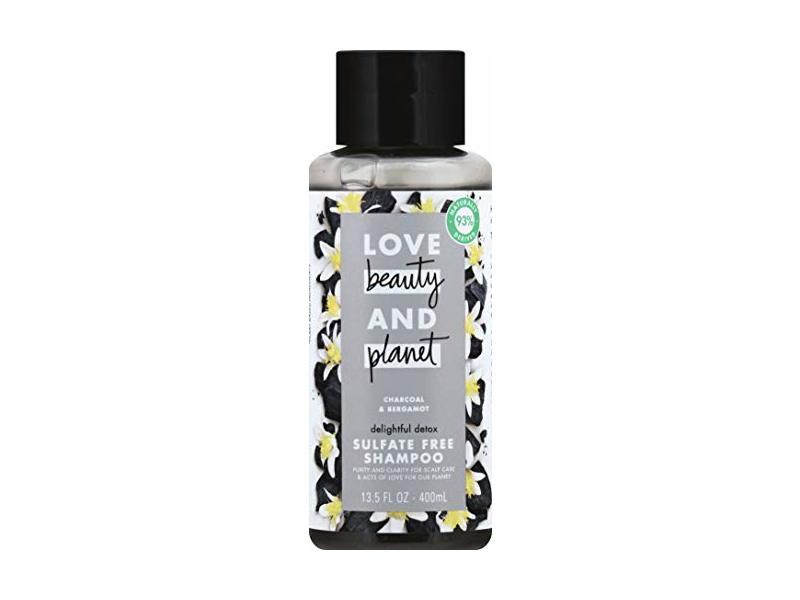 Love Beauty and Planet Love Beauty and Planet Charcoal & Bergamot Shampoo, 13.5 oz