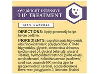 Burt's Bees 100% Natural Overnight Intensive Lip Treatment, Ultra-Conditioning Lip Care, 0.25 ounce - Image 3