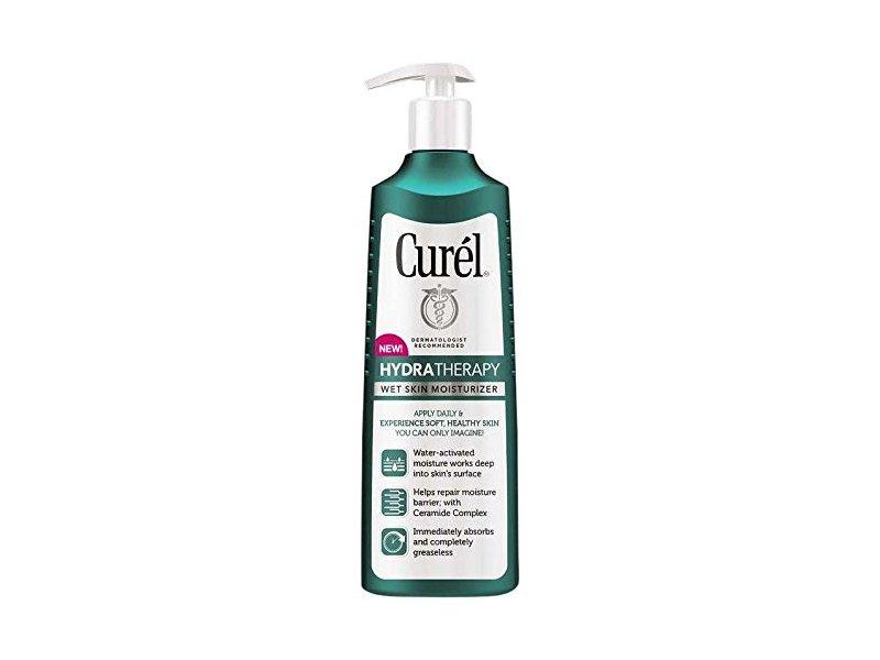 Curel Hydra Therapy Wet Skin Moisturizer, 12 Ounce