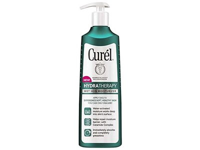 Curel Hydra Therapy Wet Skin Moisturizer, 12 Ounce - Image 1