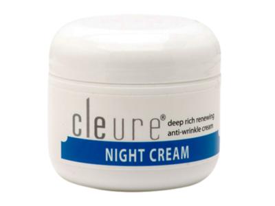 Cleure Night Cream, 2 oz (57 g)