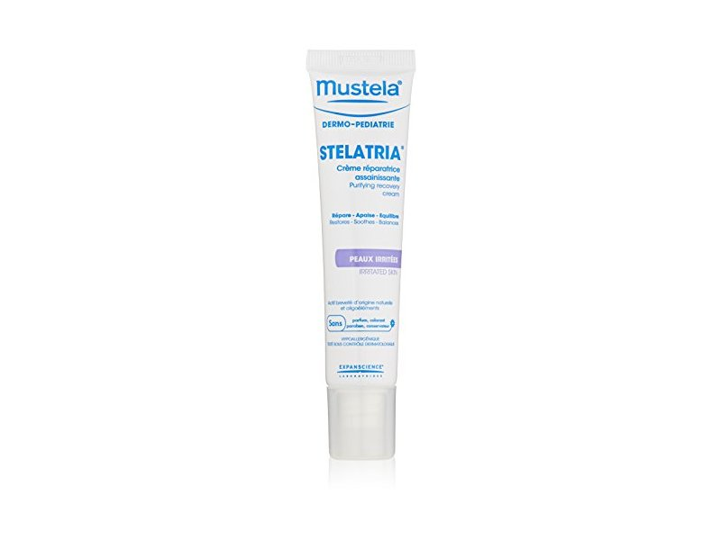 Mustela Stelatria Skin Recovery Cream, 1.35 fl.oz.
