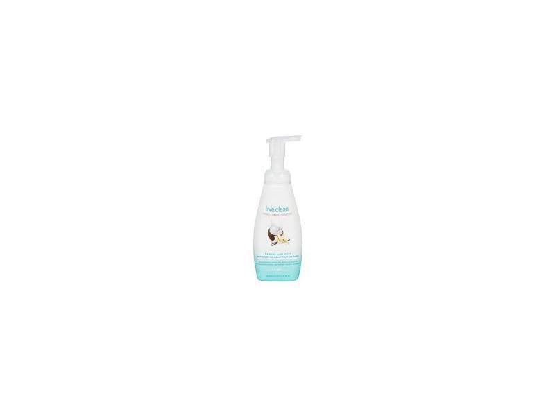 Live Clean Foaming Hand Wash, Vanilla Bean & Coconut, 13.5 fl oz