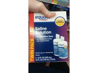 Equate Contact Lens Saline Solution for Sensitive Eyes, 12 fl oz - Image 5