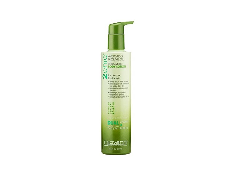 Giovanni 2chic Avocado and Olive Oil Ultra-Moist Body Lotion, 8.5 Fluid Ounce