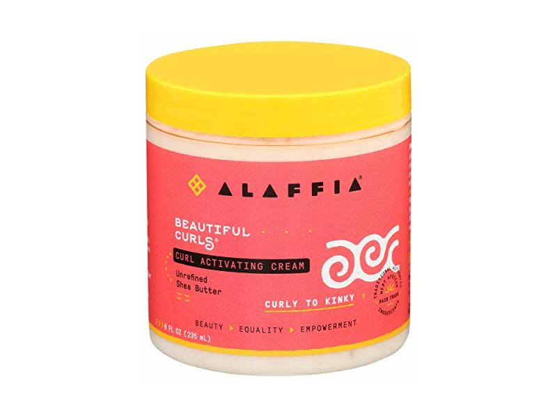 Alaffia, Cream Curl Activating, 8 Fl Oz