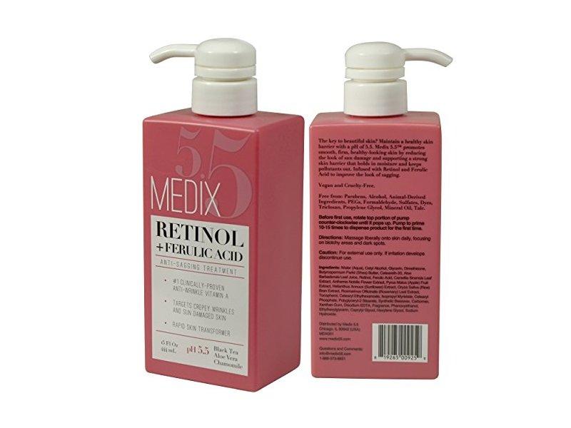 Medix 5.5 Retinol Cream with Ferulic Acid, 15 fl oz