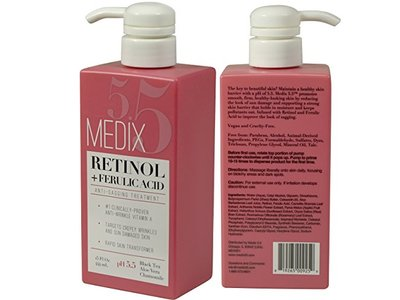 Medix 5.5 Retinol Cream with Ferulic Acid, 15 fl oz