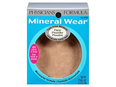 Physicians Formula Mineral Wear Talc-free Mineral Face Powder, Beige, 0.3-Ounces - Image 7