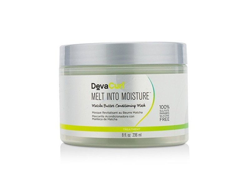 DevaCurl Melt Into Moisture Matcha Butter Conditioning Mask, 236ml/8oz