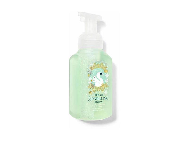 Bath and Body Works Gentle Foaming Hand Soap, Fresh Sparkling Snow, 8.75 fl oz/259 mL