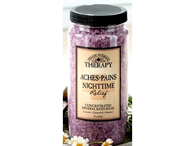 Village Naturals Aches And Pains Nighttime Relief Mineral Bath Soak, 1.38 Pound