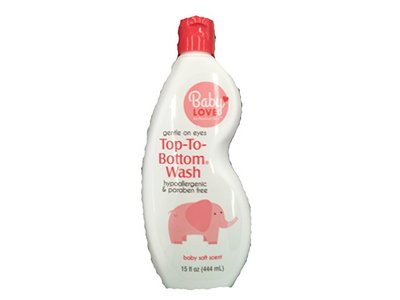 Baby Love Top to Bottom Wash, 15 oz