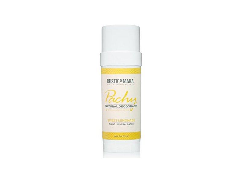 Rustic Maka Pachy Natural Deodorant, Sweet Lemonade, 2 oz