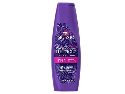 Aussie Total Miracle Collection 7N1 Shampoo, 12.1 Fluid Ounce - Image 1