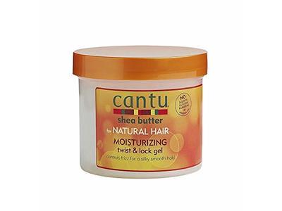 Cantu Shea Butter For Natural Hair Moisturizing Twist & Lock Gel, 13 Ounce - Image 1
