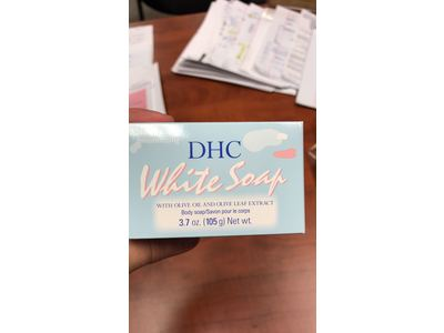 DHC White Soap, 3.7 oz - Image 3