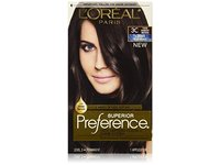 L'Oreal Superior Preference Hair Color, 3C Darkest Brown - Image 2