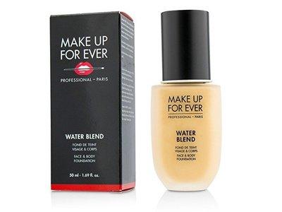 Make Up For Ever Water Blend Face & Body Foundation, Y305 Soft Beige, 1.69 fl oz
