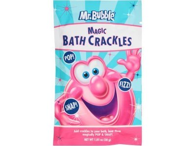Mr. Bubble Magic Bath Crackles, Fragrance-Free, 1.05 oz