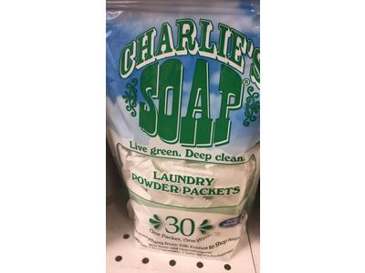 Charlie's Soap Laundry Powder Packets, 30 Count (Pack Of 6) - Image 3