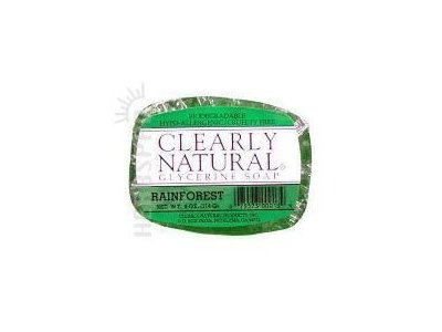 Clearly Natural Glycerine Soap, Rainfores,t 4 oz