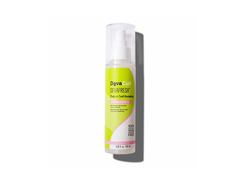 DevaCurl DevaFresh Scalp & Curl Revitalizer Spray, 4.5 oz