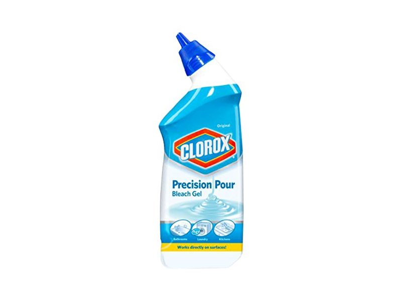 Clorox Precision Pour Bleach Gel, Original, 24 fl oz