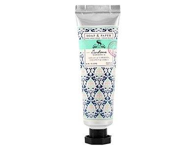 Petite Shea Hand Cream Gardenia 1 oz by The Soap & Paper Factory