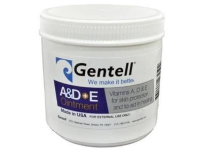 Gentell A&D+E Ointment, 16 oz/454 g