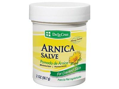 De La Cruz Pomada De Arnica Arnica Salve, 2-Ounce Jar (Pack of 6)