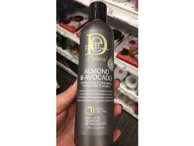 Design Essentials Natural Super Moisturizing & Detangling Sulfate- Free Shampoo 8oz. - Image 3