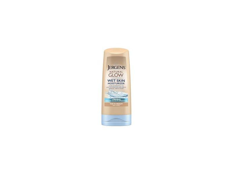 Jergens Natural Glow Wet Skin Moisturizer, Fair/Medium