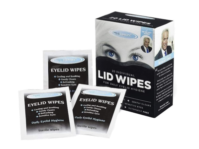 The Eye Doctor Eyelid Wipes, 20 Count