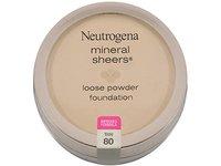 Neutrogena Mineral Sheers Loose Powder Foundation, Tan 80, 0.19 fl oz - Image 2