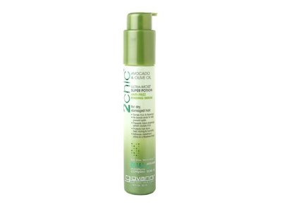 Giovanni Cosmetics 2chic Ultra-Moist Super Potion Anti-Frizz Binding Serum Oil, Avocado & Olive Oil, 1.8 fl oz