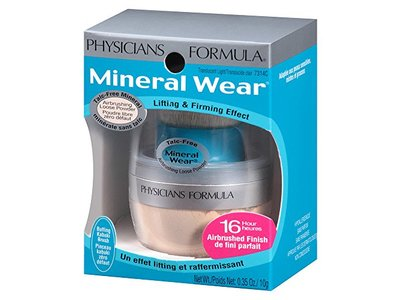 Physicians Formula Mineral Wear Talc-Free Mineral Airbrushing Loose Powder, Translucent Light, 0.35 oz. - Image 10