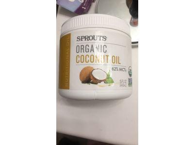 Sprouts Organic Coconut Oil, 15 fl oz - Image 1