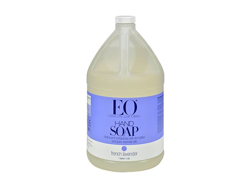 EO Products Liquid Hand Soap, French Lavender, 1 Gallon