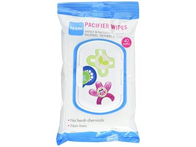 MAM Pacifier Wipes, 40 Count