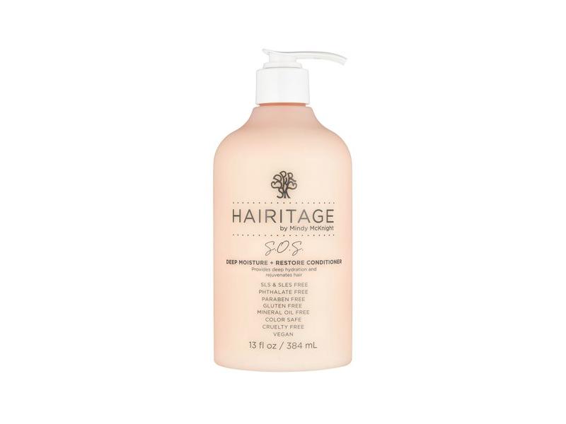 Hairitage By Mindy Mcknight S.o.s. Deep Moisture + Restore Conditioner, 13 fl oz/384 mL