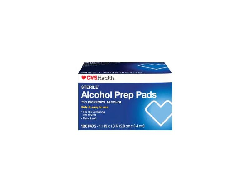 cvs health alcohol prep pads  120 ct ingredients and reviews