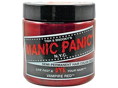 Manic Panic Vampire Red Hair Dye, 4 oz