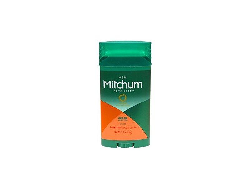 Mitchum Men Invisible Solid Sport Deodorant, 2.7 oz
