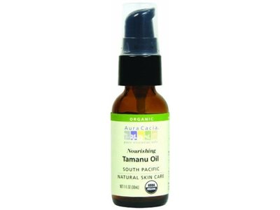 Aura Cacia Organics Skin Care Oil Og1 Tamanu, 1 Fl oz - Image 1