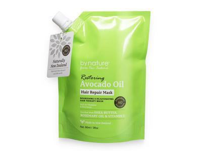 By Nature Restoring Avocado Oil Hair Repair Mask, 5 fl oz