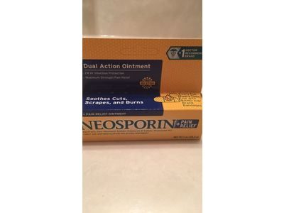Neosporin First Aid Antibiotic Ointment Maximum Strength Pain Relief, 1-Ounce - Image 17